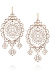 LAURENT GANDINI - Golden drop earrings